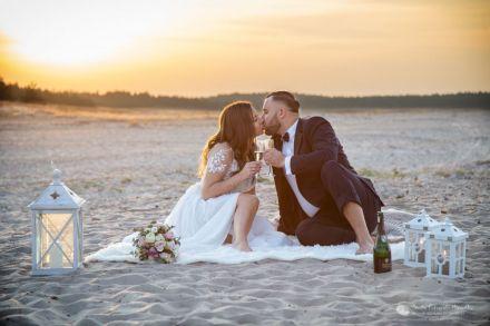 Profesjonalna fotografia ślubna - Kłomnice - śląskie